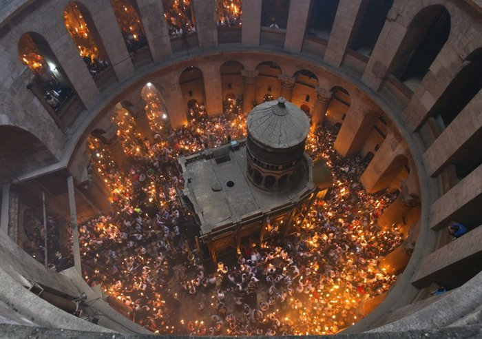 O κίνδυνος κατάρρευσης του Πανάγιου Τάφου ενώνει τους Χριστιανούς - εικόνα 3