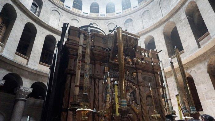 O κίνδυνος κατάρρευσης του Πανάγιου Τάφου ενώνει τους Χριστιανούς - εικόνα 4