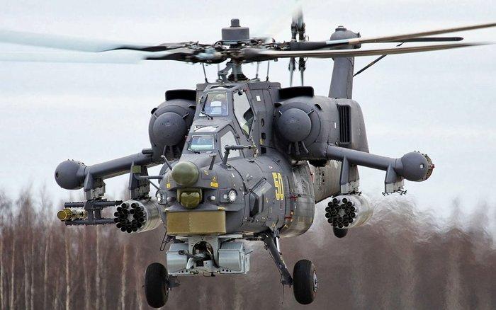 Δείτε πως ένα Ρωσικό Mi-28 ανατινάζει όχημα τζιχαντιστών