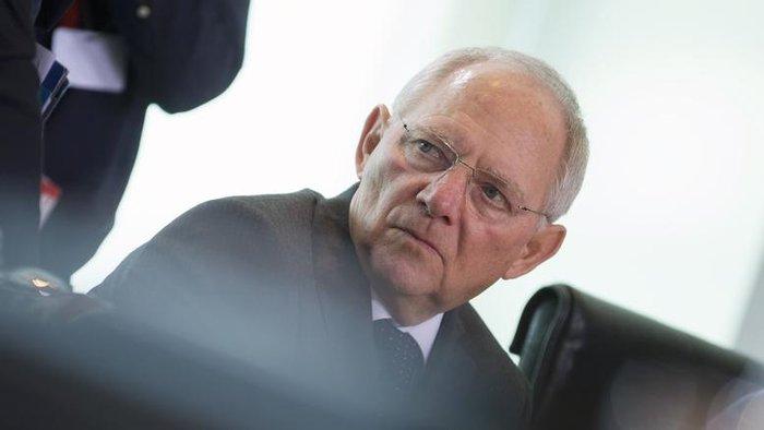 Ο γερμανός υπουργός Οικονομικών Βόλφγκανγκ Σόιμπλε