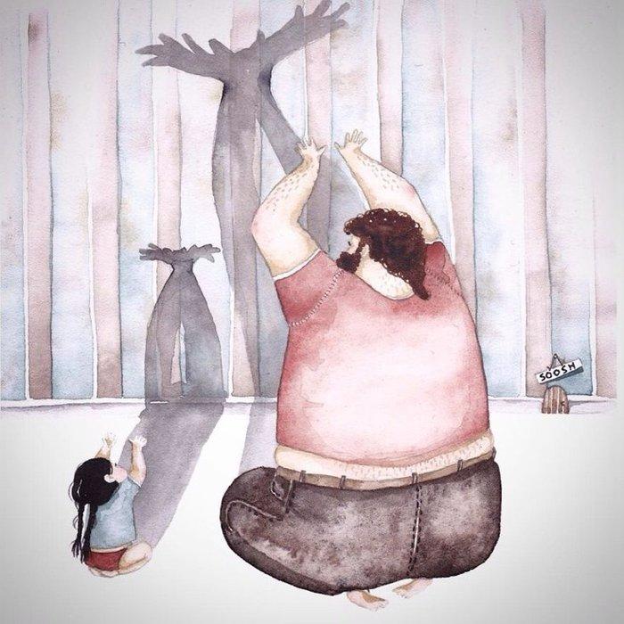 Η σχέση πατέρα-κόρης σε 12 εκπληκτικά σκίτσα - εικόνα 7