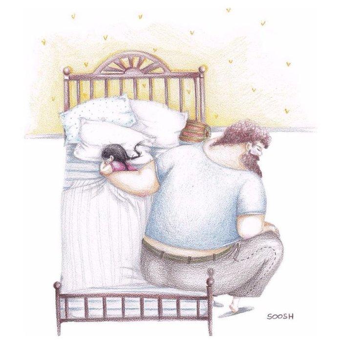Η σχέση πατέρα-κόρης σε 12 εκπληκτικά σκίτσα - εικόνα 9