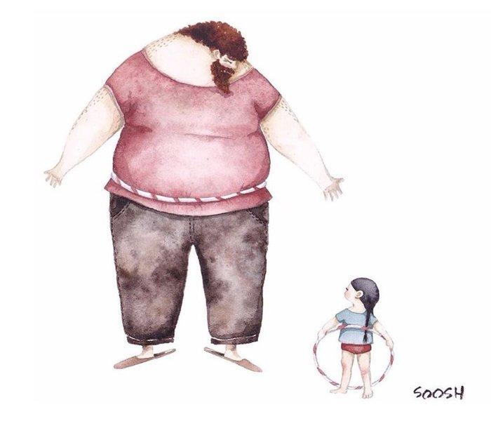 Η σχέση πατέρα-κόρης σε 12 εκπληκτικά σκίτσα - εικόνα 11