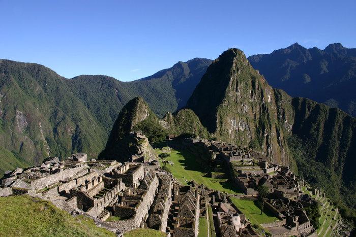 Η αρχαία πόλη Μάτσου Πίτσου που βρίσκεται στο νότιο Περού
