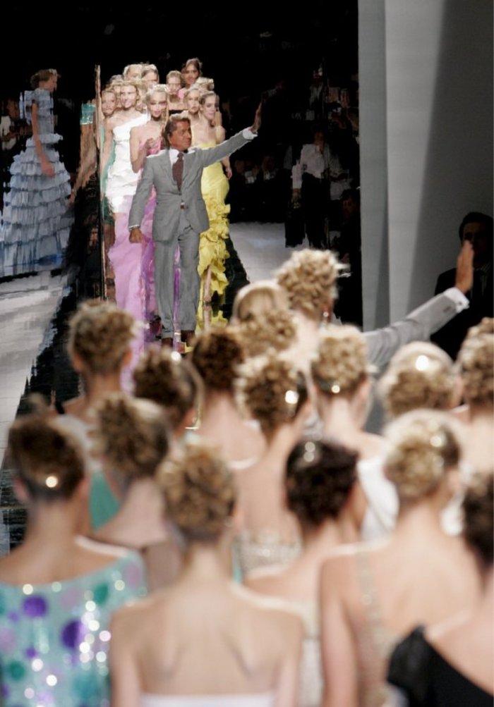Πάνω στις αναλογίες αυτής της Ελληνίδας έραβε τα ρούχα του ο Valentino