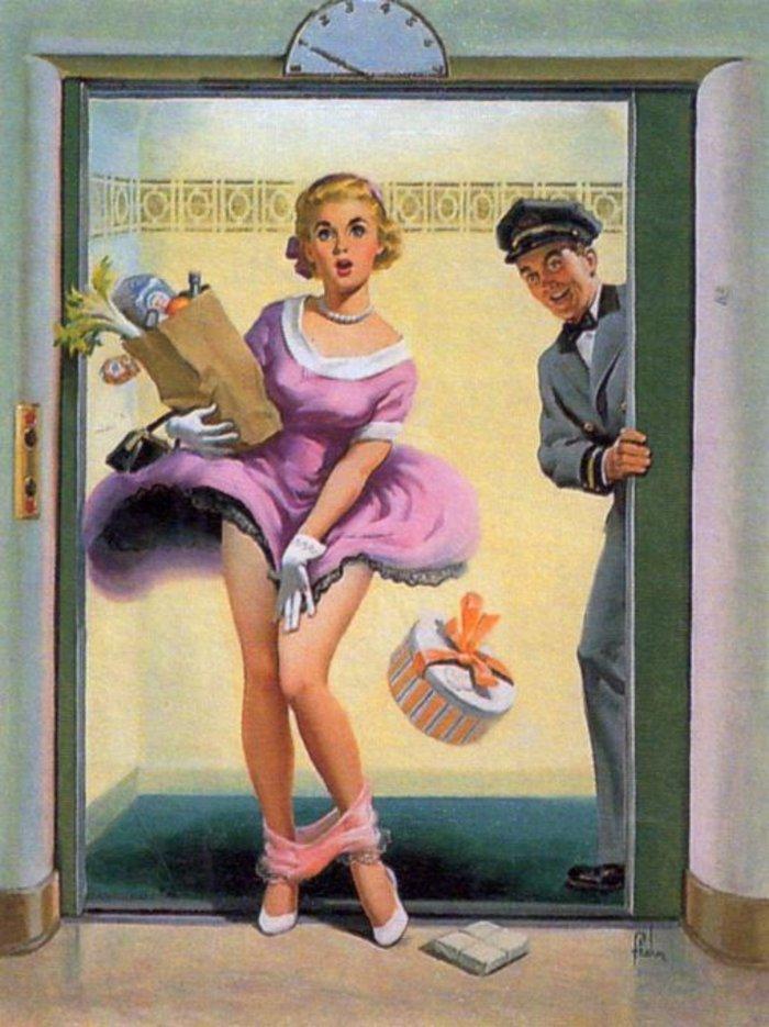 Η μυστηριώδης τέχνη του πεσμένου εσώρουχου, γυναίκες σε κίνδυνο - εικόνα 3