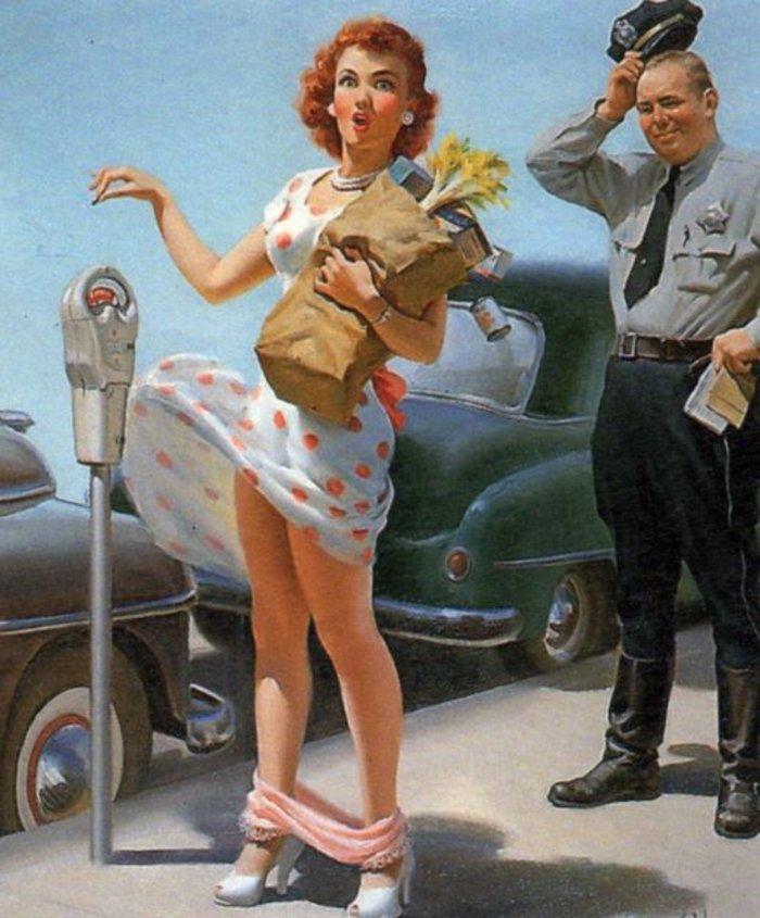 Η μυστηριώδης τέχνη του πεσμένου εσώρουχου, γυναίκες σε κίνδυνο - εικόνα 5