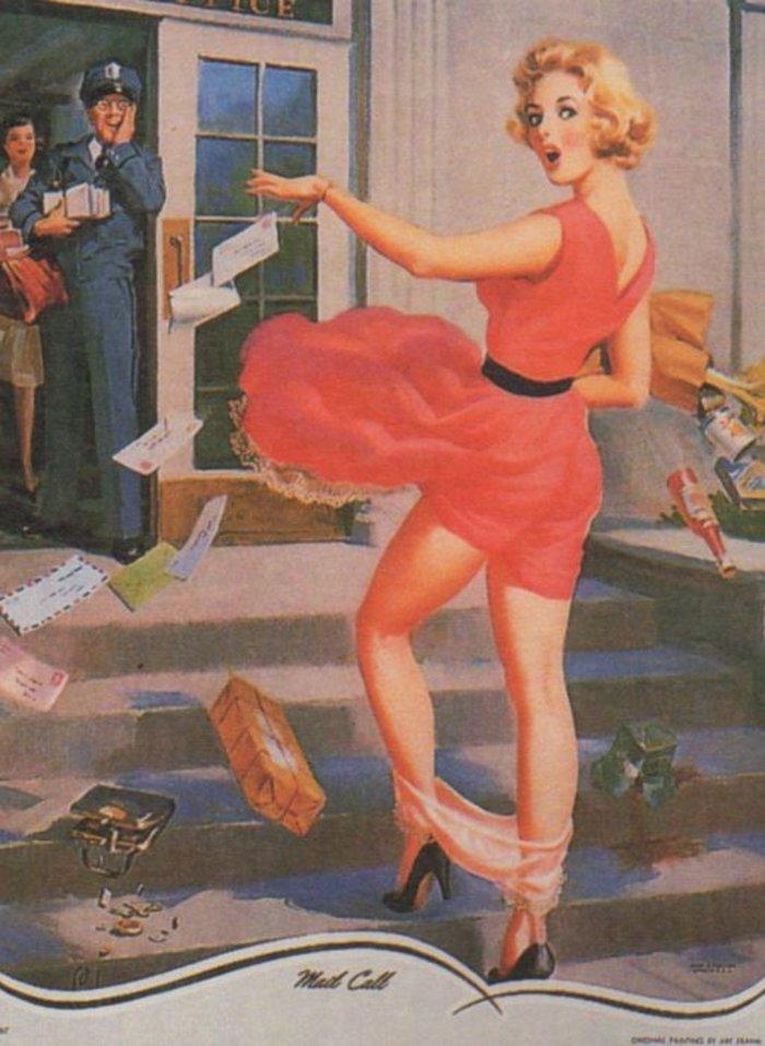 Η μυστηριώδης τέχνη του πεσμένου εσώρουχου, γυναίκες σε κίνδυνο - εικόνα 8