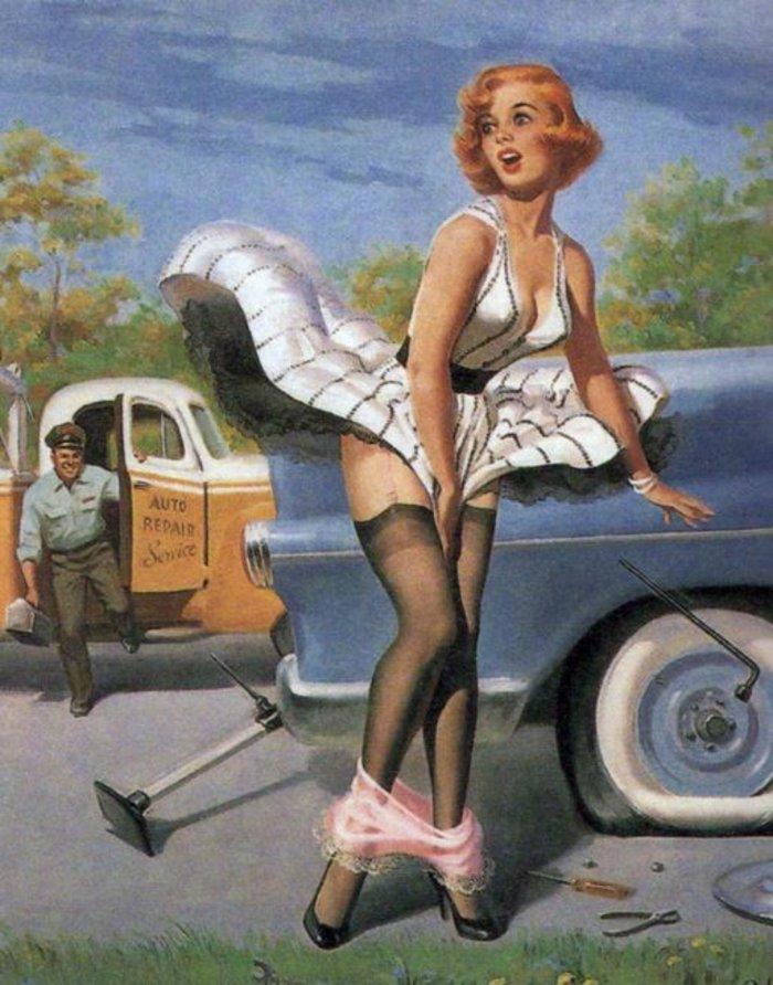 Η μυστηριώδης τέχνη του πεσμένου εσώρουχου, γυναίκες σε κίνδυνο - εικόνα 9