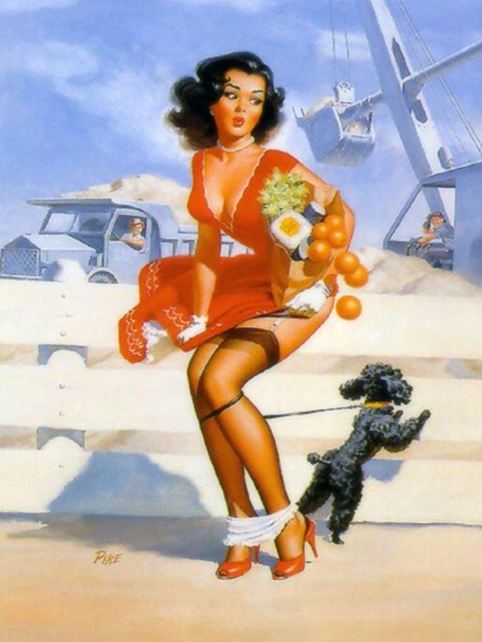 Η μυστηριώδης τέχνη του πεσμένου εσώρουχου, γυναίκες σε κίνδυνο - εικόνα 11