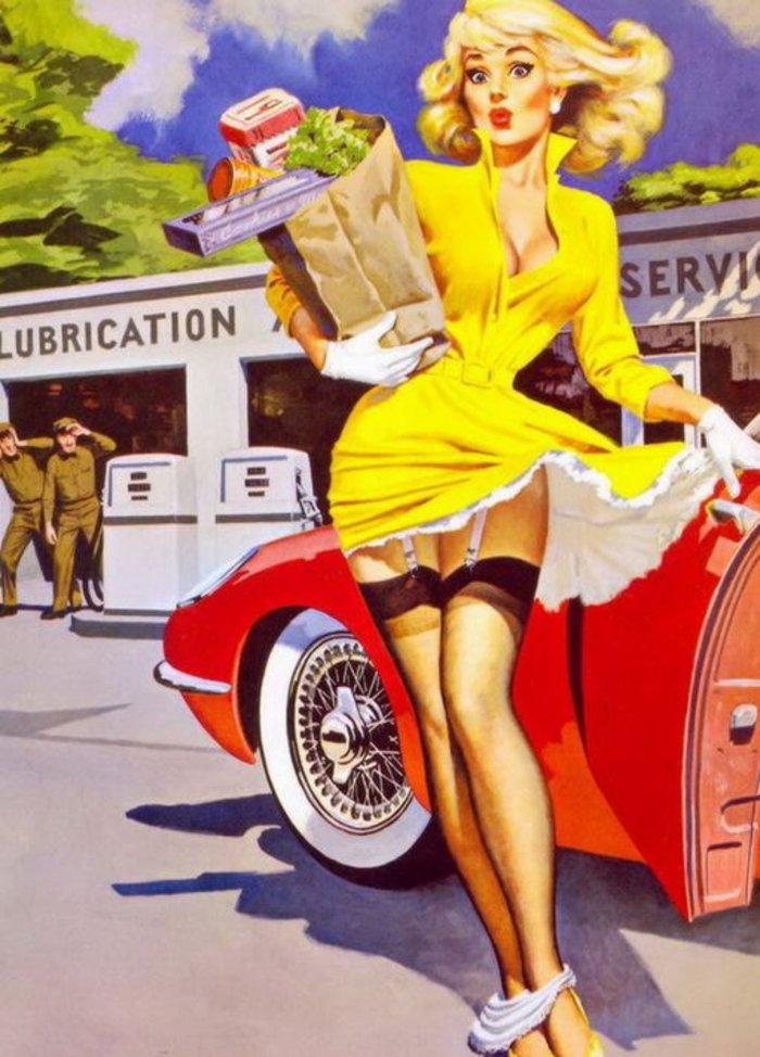 Η μυστηριώδης τέχνη του πεσμένου εσώρουχου, γυναίκες σε κίνδυνο - εικόνα 12