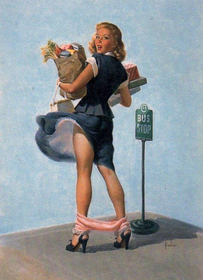 Η μυστηριώδης τέχνη του πεσμένου εσώρουχου, γυναίκες σε κίνδυνο - εικόνα 13