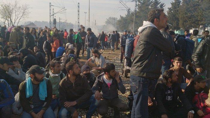 Ενταση και επεισόδια στον καταυλισμό στην Ειδομένη - εικόνα 8