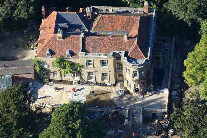 Κλούνεϊ-Αμάλ:Δείτε το ανακαινισμένο σπίτι τους αξίας 12 εκ. ευρώ - εικόνα 3