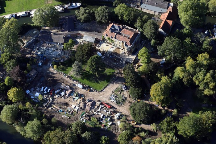 Κλούνεϊ-Αμάλ:Δείτε το ανακαινισμένο σπίτι τους αξίας 12 εκ. ευρώ - εικόνα 4
