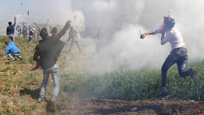 Στο έλεος της βίας οι πρόσφυγες στην Ειδομένη -  φωτό και video