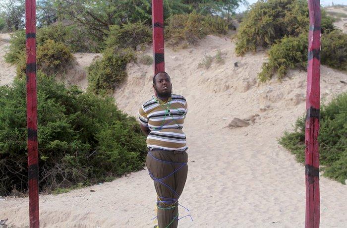 Φρίκη: Δημόσια εκτέλεση στο κέντρο του Μογκαντίσου