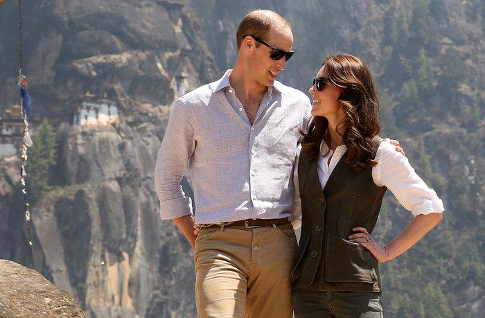 Ο Γουίλιαμ και η Κέιτ στο Μπουτάν