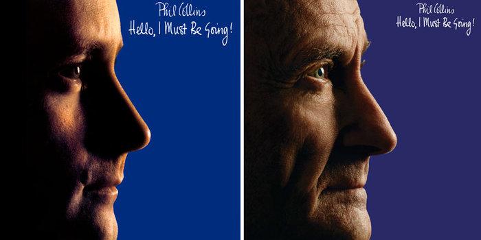 Τότε & τώρα:Ο Φιλ Κόλινς τόλμησε κι έκανε ακριβώς τις ίδιες φωτογραφήσεις - εικόνα 2