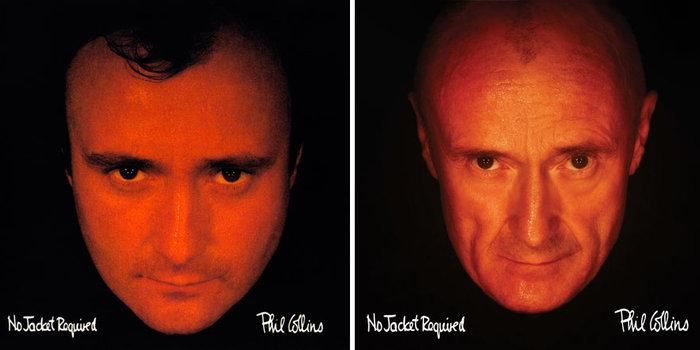 Τότε & τώρα:Ο Φιλ Κόλινς τόλμησε κι έκανε ακριβώς τις ίδιες φωτογραφήσεις - εικόνα 3