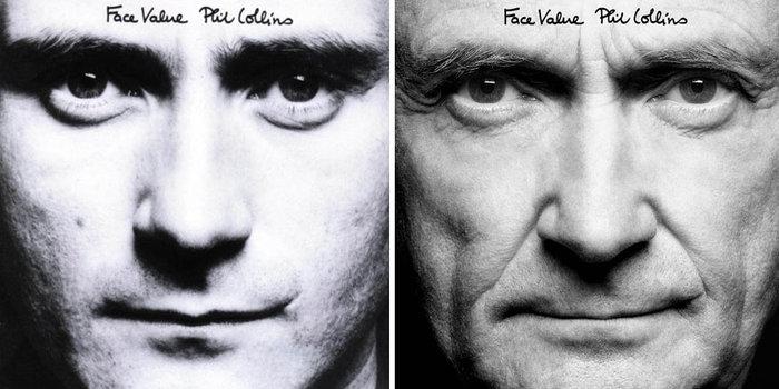 Τότε & τώρα:Ο Φιλ Κόλινς τόλμησε κι έκανε ακριβώς τις ίδιες φωτογραφήσεις - εικόνα 5