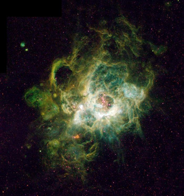 Ένα τεράστιο νεφέλωμα φωτογραφημένο από το διαστημικό τηλεσκόπιο Hubble, 17 Ιανουαρίου 1995. Φωτο: Flicrk/NASA