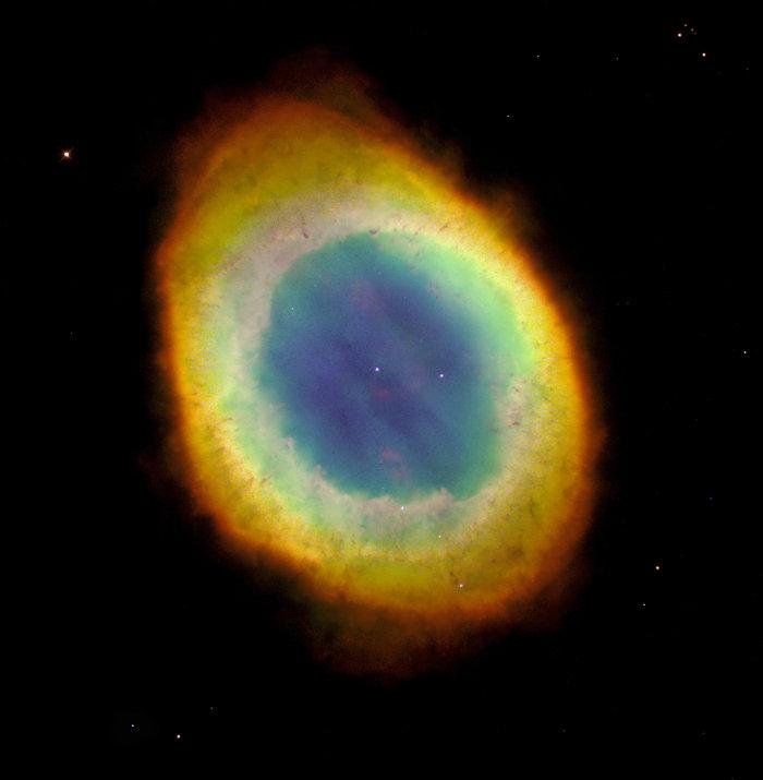 Το νεφέλωμα Ring φωτογραφημένο από το διαστημικό τηλεσκόπιο Hubble, 1 Οκτωβρίου 1995. Φωτο: Flickr/NASA