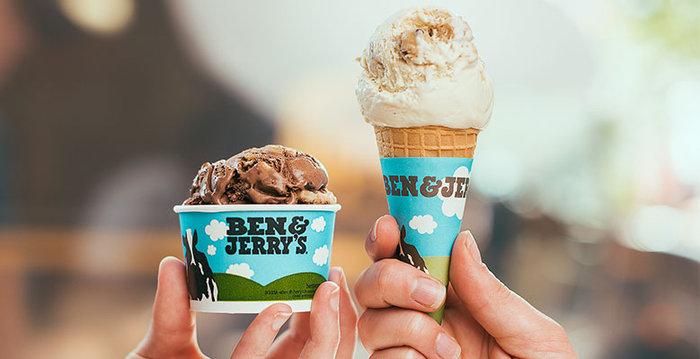 Στα Ben & Jerry's σήμερα το παγωτό είναι ΔΩΡΕΑΝ