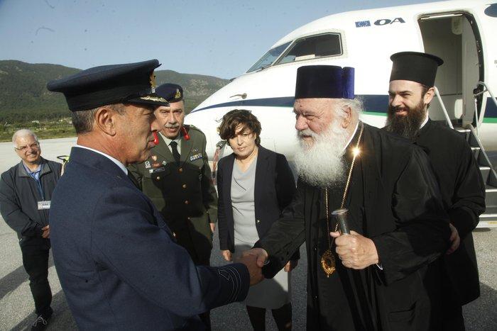 Στη Λέσβο ο Ιερώνυμος ενόψει της επίσκεψης του Πάπα