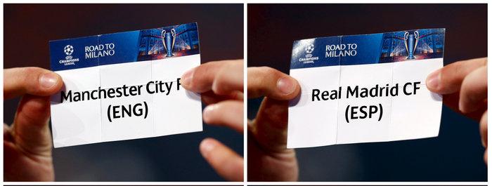 Τα ζευγάρια των ημιτελικών του Champions League