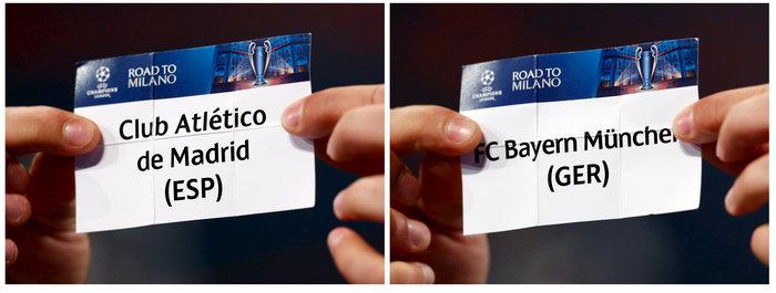 Τα ζευγάρια των ημιτελικών του Champions League - εικόνα 2