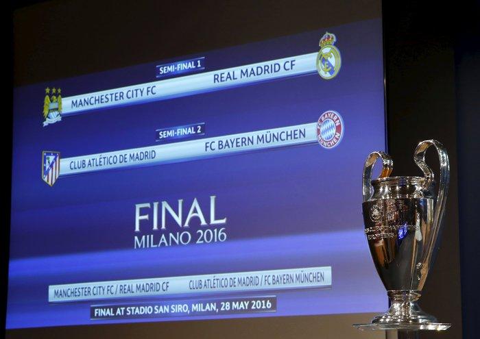Τα ζευγάρια των ημιτελικών του Champions League - εικόνα 3