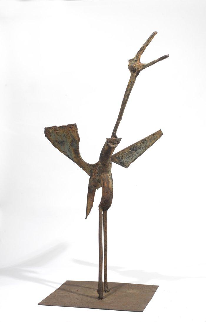 Πουλί, 1955, ορείχαλκος, 75 x 40 x 25 εκ.