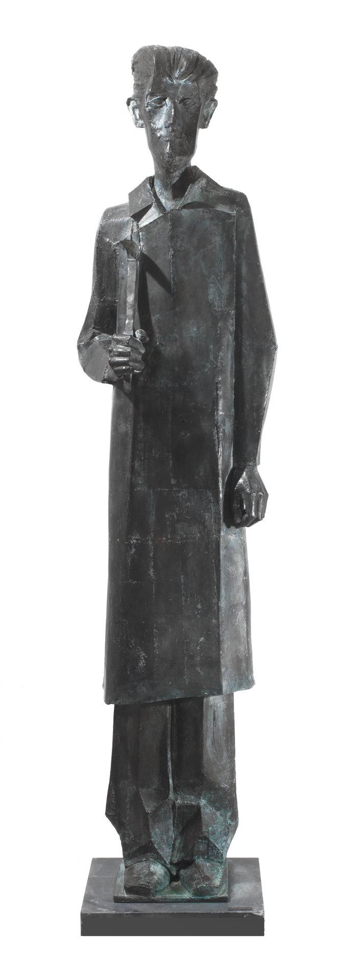 Αλέξανδρος ο πλανόδιος, 1968, ορείχαλκος, 190 x 48 x 43 εκ.