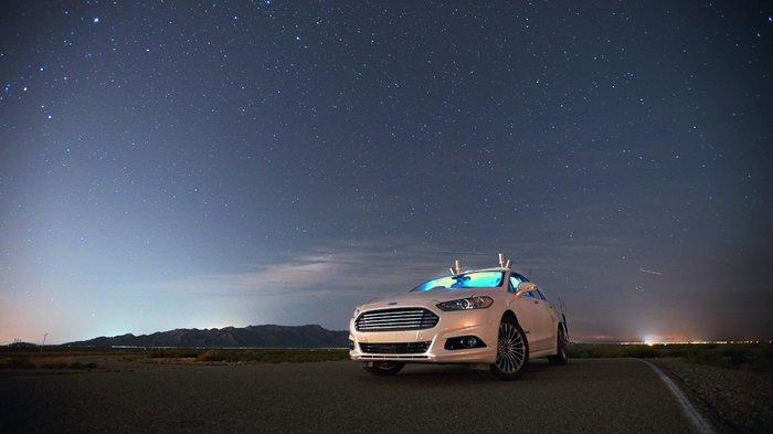 Τo αυτόνομο Ford Mondeo με τεχνολογία αισθητήρων LiDAR «βλέπει» στο σκοτάδι