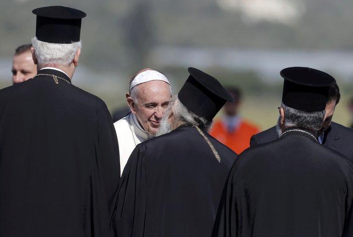 Ο Πάπας και ο Πατριάρχης με μήνυμα ανθρωπιάς στη Λέσβο - εικόνα 9