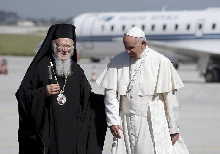 Ο Πάπας και ο Πατριάρχης με μήνυμα ανθρωπιάς στη Λέσβο - εικόνα 10