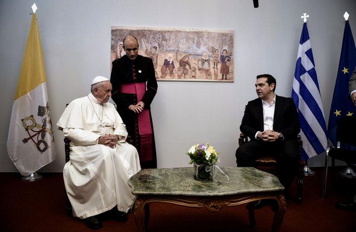 Ο Πάπας και ο Πατριάρχης με μήνυμα ανθρωπιάς στη Λέσβο - εικόνα 6
