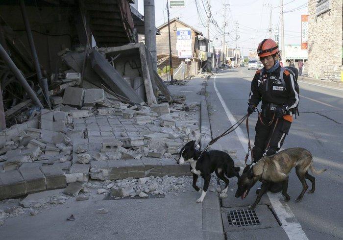 Εικοσιτρεις νεκροί, δεκάδες χιλιάδες άστεγοι από τους σεισμούς στην Ιαπωνία - εικόνα 2