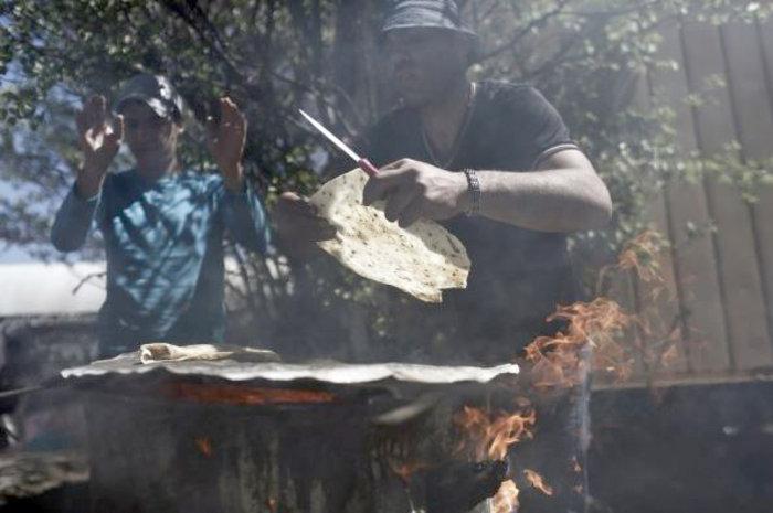 Ο Παλαιστίνιος φούρναρης της Ειδομένης
