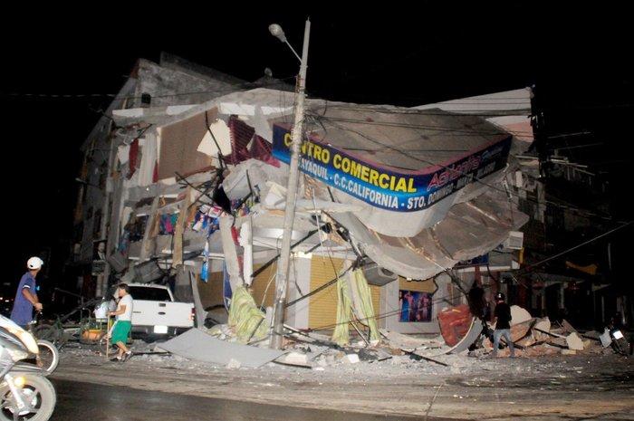 Ισημερινός: 272 οι νεκροί από τον σεισμό των 7,8 Ρίχτερ