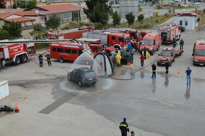 Άσκηση για τρομοκρατική επίθεση στο μετρό της Αθήνας με Sarin [εικόνες] - εικόνα 2