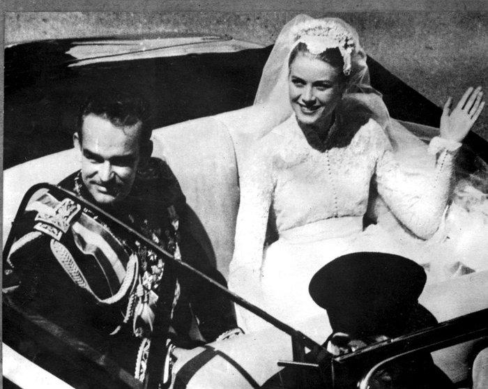 Ρενιέ-Γκρέις Κέλι του Μονακό: Ο πιο φαντασμαγορικός γάμος του αιώνα - εικόνα 2