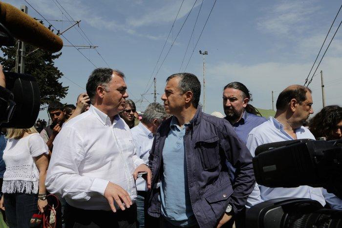 Θεοδωράκης στην Ειδομένη: Τα πράγματα είναι τραγικά - εικόνα 2