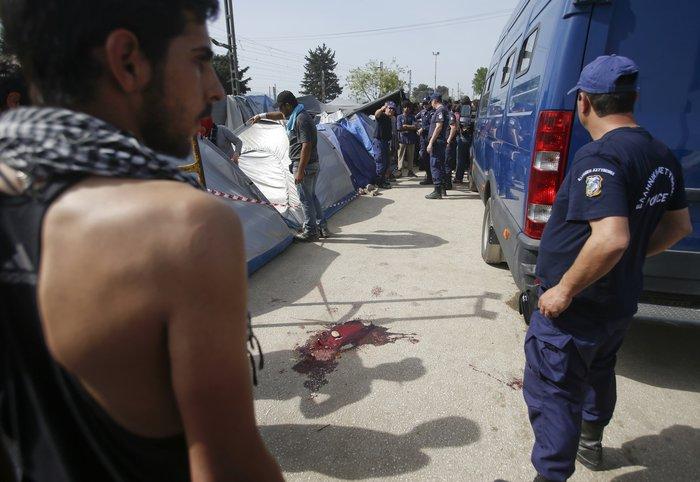 Ειδομένη:Αγρια επεισόδια μετά τον τραυματισμό πρόσφυγα - εικόνα 5