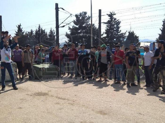 Ειδομένη:Αγρια επεισόδια μετά τον τραυματισμό πρόσφυγα - εικόνα 6