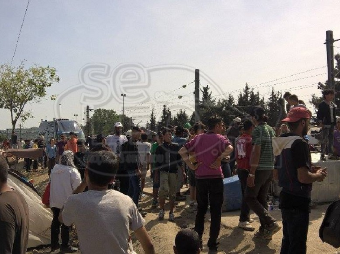 Ειδομένη:Αγρια επεισόδια μετά τον τραυματισμό πρόσφυγα - εικόνα 7