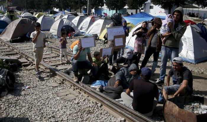 Ειδομένη:Αγρια επεισόδια μετά τον τραυματισμό πρόσφυγα - εικόνα 8