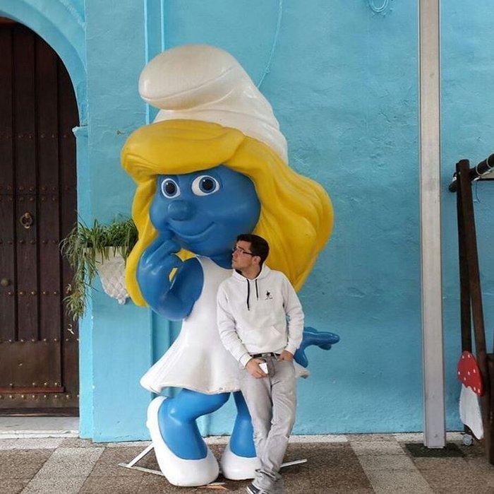 Juzcar, το πανέμορφο μπλε ανδαλουσιανό χωριό της Ισπανίας - εικόνα 7
