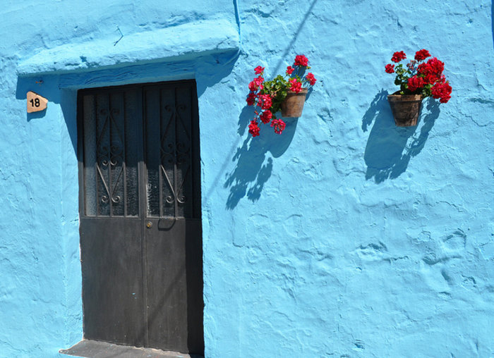 Juzcar, το πανέμορφο μπλε ανδαλουσιανό χωριό της Ισπανίας - εικόνα 12